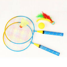 New 1 Pair Badminton Racket For Kids Outdoor Sports Toys With badminton