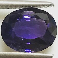 Natural 2.91 Carat Purple Sapphire 10x8mm Oval Genuine Loose Gemstone