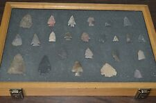 NICE ARROWHEAD COLLECTION!!! 24 ARROWHEADS TOTAL!!! MUST SEE!!!
