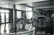 An Interior View at the Lost Lake Woods Club, Lincoln MI RPPC 1955