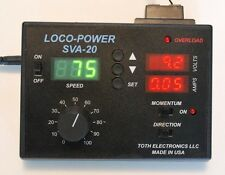 Model Train Power Pack with Speedometer, Voltmeter, and Ammeter
