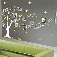 Family Tree Bird Art Wall Quotes / Wall Stickers / Wall Decals 212