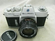 Bell & Howell Auto 35 Reflex Design 237 (Canon EX EE QL) w/ Canon 50mm f1.8 Lens
