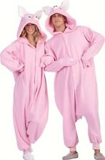 PENELOPE PINK PIG PIGGIE HOG BOAR ADULT COSTUME ANIMAL PAJAMAS COSTUMES JUMPSUIT