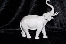 Meissen Elephant Afrikanischer sehr dekorativ Weißporzellan