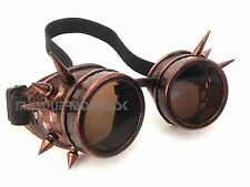 Victorian Spikes Steampunk goggles aviator Cosplay Cyber Halloween Party Fun