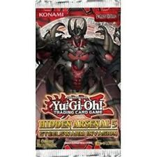 YUGIOH  HIDDEN  ARSENAL  5  BOOSTER  PACKS  X  5   BRAND  NEW
