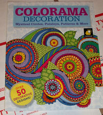 Colorama Decoration: Mystical Circles, Paisleys, Patterns & More by TeleBrands