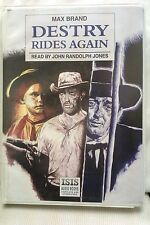 Destry Rides Again by Max Brand: Unabridged Cassette Audiobook (Y2)