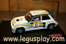 Slot SCX Scalextric Spirit 0500602 Renault 5 Turbo Carlos Sainz - New