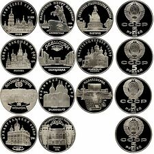 Russland 11 x 5 Rubel 1988-1991 P.163 - 173 PP