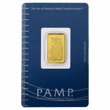PAMP Suisse 5 Gram .9999 Gold Bar Fortuna W/ VeriScan Certificate. Invest Now!