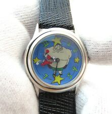 "BUGS BUNNY,WB, Looney Tunes,RARE""The Prize Fighter/Rings Around"",MENS WATCH,1211"
