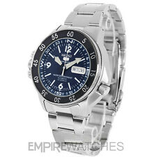 *NEW* SEIKO MENS AUTOMATIC ATLAS BLUE DIVERS 200M WATCH - SKZ209J1 - RRP £300