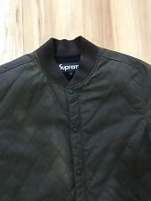 Supreme Waxed Wax Quilted Bomber Jacket North face Mountain Jacket Box Logo