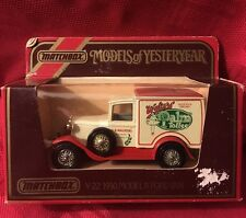 Matchbox Models of Yesteryear Y21 Diecast Model A Ford Van Palm Toffee #2205