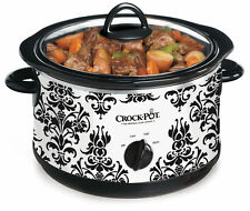 Crock-Pot 4.5 qt. Damask Print Slow Cooker One Size