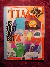 TIME magazine April 25 1977 Apr 4/25/77 Energy crisis conference battle