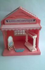 Sylvanian Families Madeline's Boutique Dress Shop WITHOUT CLOTHES INCOMPLETE