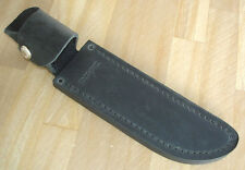 NEW 124 BUCK FRONTIERSMAN KNIFE BELT SHEATH BLACK DISTRESSED LEATHER NO KNIFE