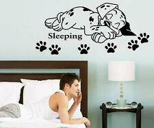 Animals Dog Sleep Pet Home Room Removable Wall Stickers Decal Decoration