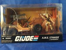 AWE Striker & Leatherneck GI Joe RAH 25th Anniversary Figure & Vehicle Box Set