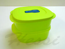 TUPPERWARE Micro Crystal Wave Mikrowellengeschirr, 2x 500ml LIMETTE