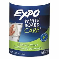 Expo Dry-Erase Board Cleaning Wet Wipes 50ct. Combines Liquid Cleaner