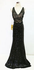 ASPEED Black Pageant Formal Prom Evening Gown XS - $320 NWT