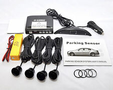 CISBO WIRELESS REVERSE PARKING SENSOR 4 SENSORS LED DISPLAY ENHANCED SIGNAL