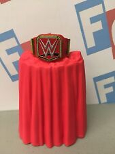 WWE Wrestling Mattel Raw Universal World Championship Title Belt Accessory 6""