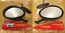 NEW 2x FIAT ALFA LANCIA FERRARI ITALIAN VITALONI CALIFORNIAN MIRROR LEFT & RIGHT