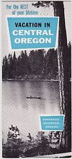 1950's Central Oregon Vacations  Promotional Brochure