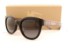 Brand New Burberry Sunglasses BE 4210 3001/T3 Black/Polarized Grey For Women