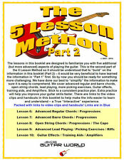Intermediate Guitar Lessons, The 5 Lesson Method - Part 2, Download. Learn Now