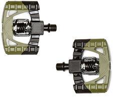 Crankbrothers Mallet 1 Klickpedal, Downhill Freeride Pedal, Plattformpedal Army