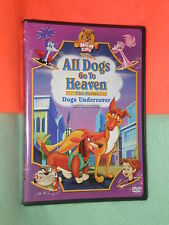 LIKE NEW All Dogs Go To Heaven Dogs Undercover BI-LINGUAL DVD ENGLISH FRANCAIS