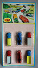 VERY RARE 70'S JOY TOY No 107 SET TRUCKS CRANES #1 MADE IN GREECE NEW MOSC !