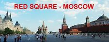 PANORAMA FRIDGE MAGNET of RED SQUARE MOSCOW RUSSIA