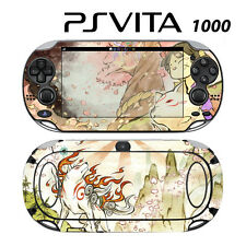 Vinyl Decal Skin Sticker for Sony PS Vita PSV 1000 Okamiden Wolf Dog