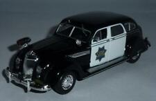 DeA 1:43 Chrysler Airflow CRS SanFrancisco police serie Police cars of the world