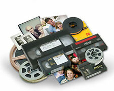 Convert VHS VHS-C Hi8 MiniDV video tape to DVD MP4 AVI MOV