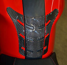 Ducati Monster 696 795 796 1100 EVO Real Carbon Fiber tank Pad Protector Sticke