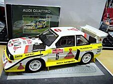 AUDI S1 E2 Quattro Rallye San Remo Röhrl 1985 Winner  Resin otto + DVD 1:18