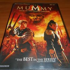 The Mummy: Tomb of the Dragon Emperor (DVD, Widescreen 2008) Brendan Fraser Used