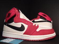 2010 Nike Air Jordan I Retro KO Hi AJKO CHICAGO BULLS RED WHITE BLACK BRED OG 9