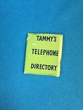 Original VINTAGE Barbie / Tammy / Telephone Book 1/6 Diorama