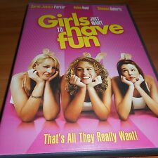 Girls Just Want to Have Fun (DVD, 2008) Sarah Jessica Parker Used Helen Hunt
