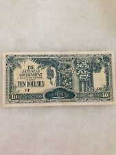 (JC) 10 Dollar Japanese Invasion Money JIM VF