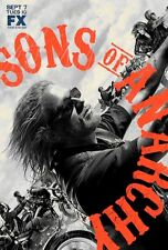 POSTER SONS OF ANARCHY HARLEY DAVIDSON BIKE FX SHOW #3